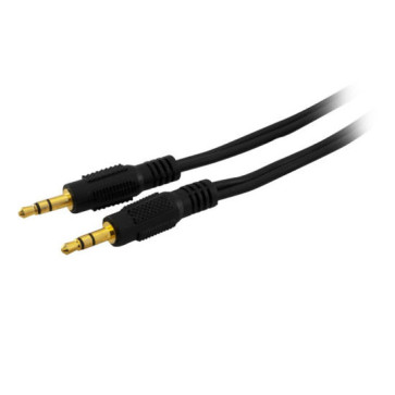 Stereo 3.5mm Plug to 3.5mm Stereo Plug Cable 1m