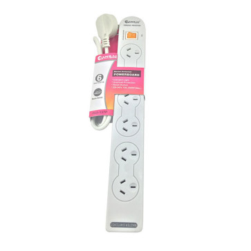 6-Way Power Board (137P) with Master Switch
