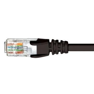 Cabac CAT6 Patch Lead Black 1m PLC6BK1