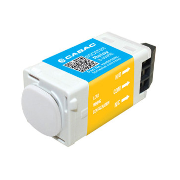 Cabac S-Click Mech Booster Relay 3-Wire 240V 10A HNS010RL