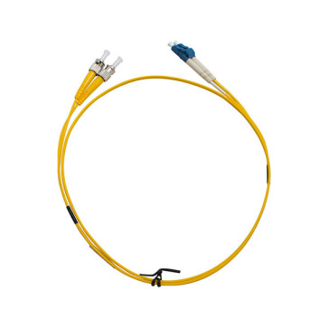 ST-LC OS1 Single Mode Duplex LSZH Fibre Patch Lead 5m