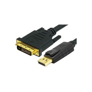 Comsol DisplayPort Male to Single Link DVI-D Male Cable 2m DP-DVI-MM-02