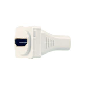 Digitek HDMI Straight Wall Plate Insert White 05BC6
