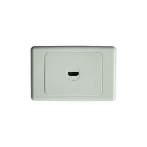 Premium HDMI Wall Plate Single