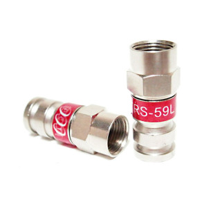 Connector RG59 PCT TRS-59L F Compression