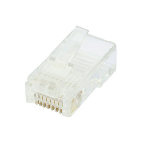CAT6 RJ45 8P8C Plug Un-Shielded 1PC (100 Pack)