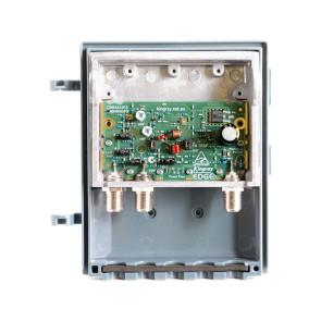 Kingray Edge UHF/VHF F-Type Shielded Masthead 43db Amp MHW43FS