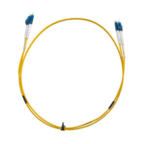 LC-LC OS1 Single Mode Duplex LSZH Fibre Cable 1m
