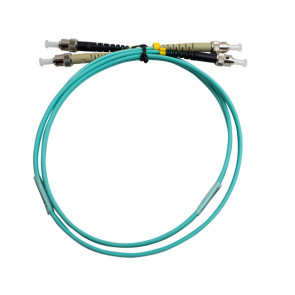 ST-ST Duplex OM3 Multimode Fibre Patch Lead 15m
