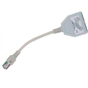 Cabac UTP Data Line Splitter (2 to 1) Dongle