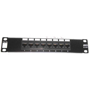 "Amdex SOHO 10"" CAT5e 8 Port Patch Panel DA10-8P-C5e"
