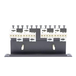 "Amdex SOHO 10"" Panel 2 x 10 Pair Disconnect Modules on Shelf DA10-20P"