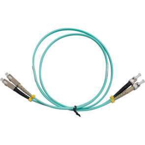ST-SC Duplex OM3 Multimode Fibre Patch Lead 1m
