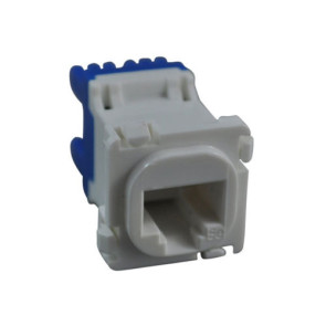 CAT5e RJ45 Network Insert White