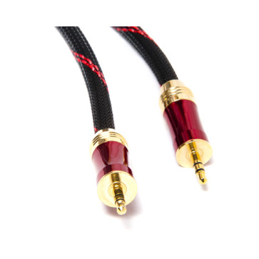 5m Ultra Premium 3.5mm AUX Auxiliary Cable Cord Ipod