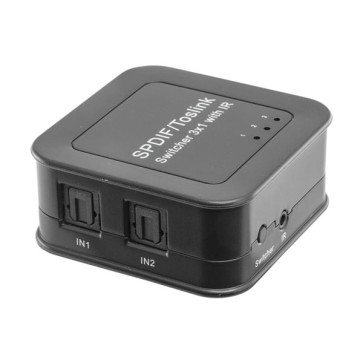 Pro2 Toslink 3 in 1 Out Digital Audio Switch PRO1376