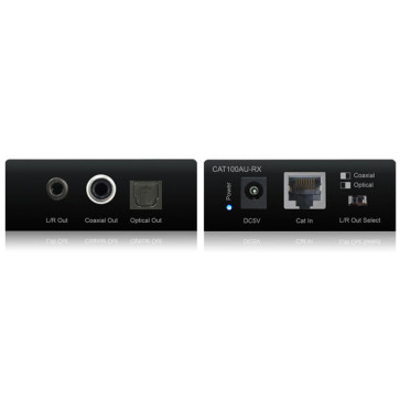Blustream CAT100AU Digital Audio over CAT5e/6 with DAC up to 100m