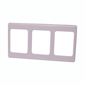 Clipsal 3 Way Multigang Wallplate Shroud 2000/3WE