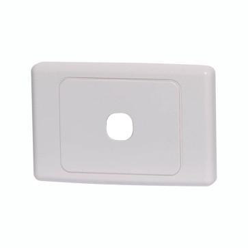 Clipsal 2000 Series 1 Gang Grid Plate 2031VHWE