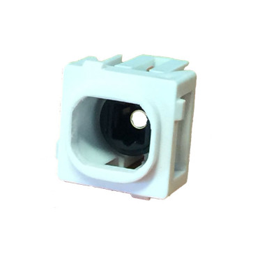 Toslink Optical Insert with Bezel to suit Clipsal Wall Plates