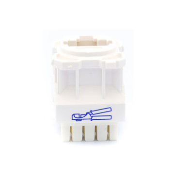 Amdex CAT5e RJ45 Network Insert White DA103WHT