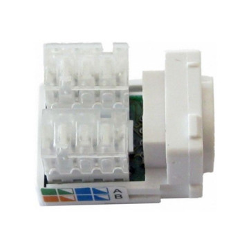 CAT6 RJ45 Network Wall Plate Insert (100 pack)