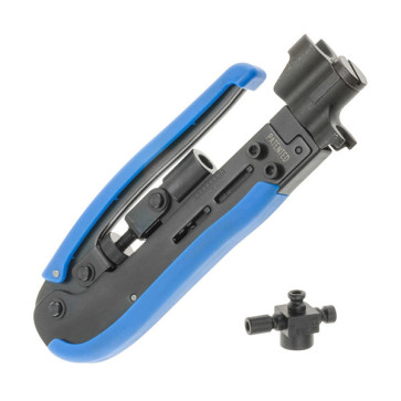 "Hanlong 6.8"" 174m Pro Compression Tool RG59 RG6 RG11 RCA BNC HTH548G202"