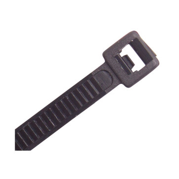 Cabac Releasable Cable Ties 140mm x 3.6mm Black Pkt 100 CTR140BK
