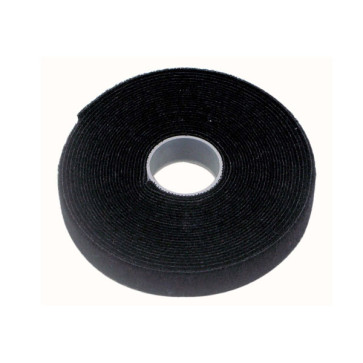 Cabac Pro Hook & Loop Cable Tie - 10mm x 5m Roll VT10BK/5M