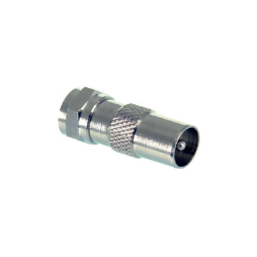 F Type Male to PAL Male Adapter - 100 Pack