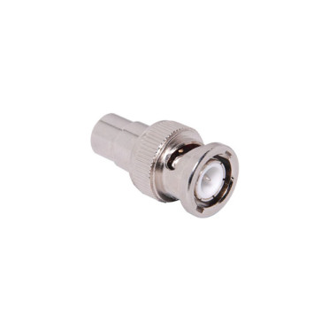 BNC Male to RCA Female Adapter - 100 Pack
