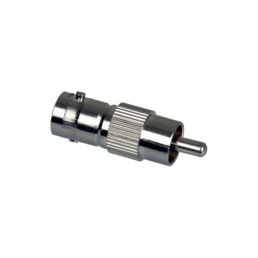 RCA Male to BNC Female Adapter - 100 Pack