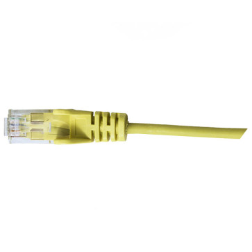 Hypertec CAT6 Slim Patch Lead 28awg Yellow 5m