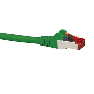 Hypertec CAT6A Shielded Patch Lead Green 1m HCAT6AGN1