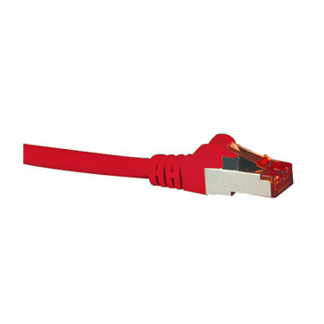 Hypertec CAT6A Shielded Patch Lead Red 5m HCAT6ARD5