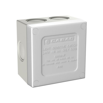 Cabac S-Click Sunset Weatherproof Switch 16A IP66 HSC110SS