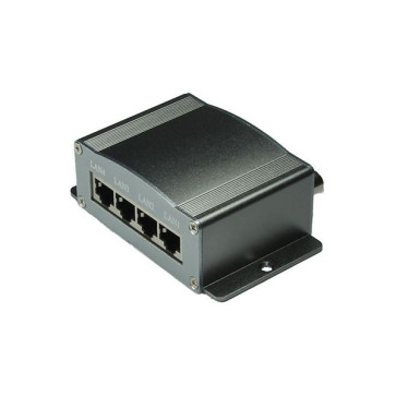 Ethernet over Coax Passtive Extender 4 Channel IPC-7400