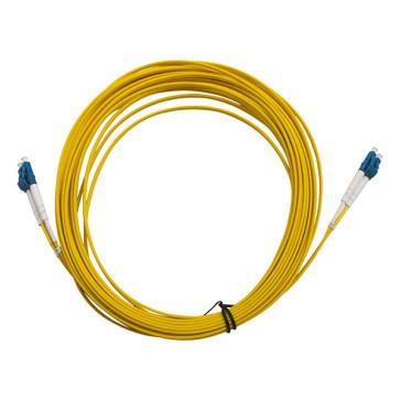 LC-LC OS1 Single Mode Duplex LSZH Fibre Patch Lead 25m
