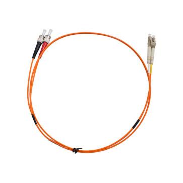 ST-LC Duplex OM1 Multimode Fibre Patch Lead 1m