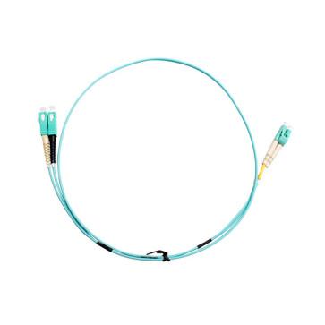 SC-LC Duplex OM3 Multimode Fibre Patch Lead 15m