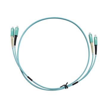 SC-SC Duplex OM3 Multimode Fibre Patch Lead 15m