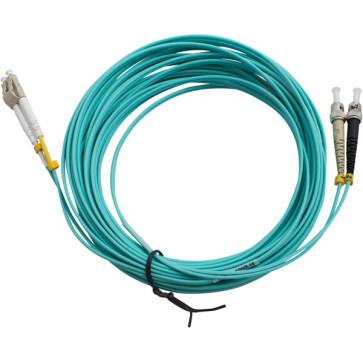 ST-LC Duplex OM3 Multimode Fibre Patch Lead 20m
