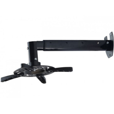 Projector Wall Mount Bracket Universal Fit LED LCD DLP Tilt & Swivel Adjustable Black PM103LB
