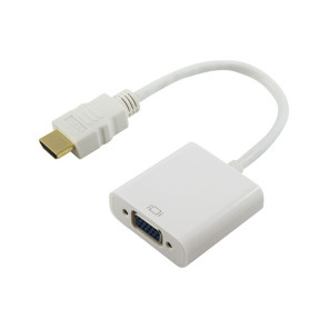 Comsol HDMI Male to VGA Female + 3.5mm Adapter Full HD 1920x1070 HDMI-VGA35-AD