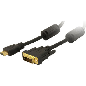 HDMI to DVI-D Male Cable 1m