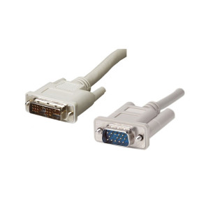 DVI Analog to VGA Cable HD15 1.8m