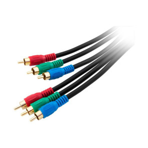 Component Video 3 RCA to 3 RCA Cable 5m
