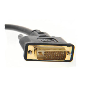 5m DVI Cable Dual Link DVI-D to DVI-D Male Lead 24+1 25 Pin Monitor Laptop TV