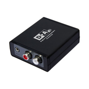 Digital to Analog Audio Converter - Optical or  Coax to RCA or 3.5mm