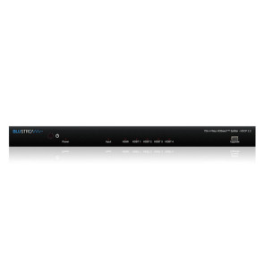 Blustream HSP14AB-V2 4-Way 4K HDBaseT Splitter Front